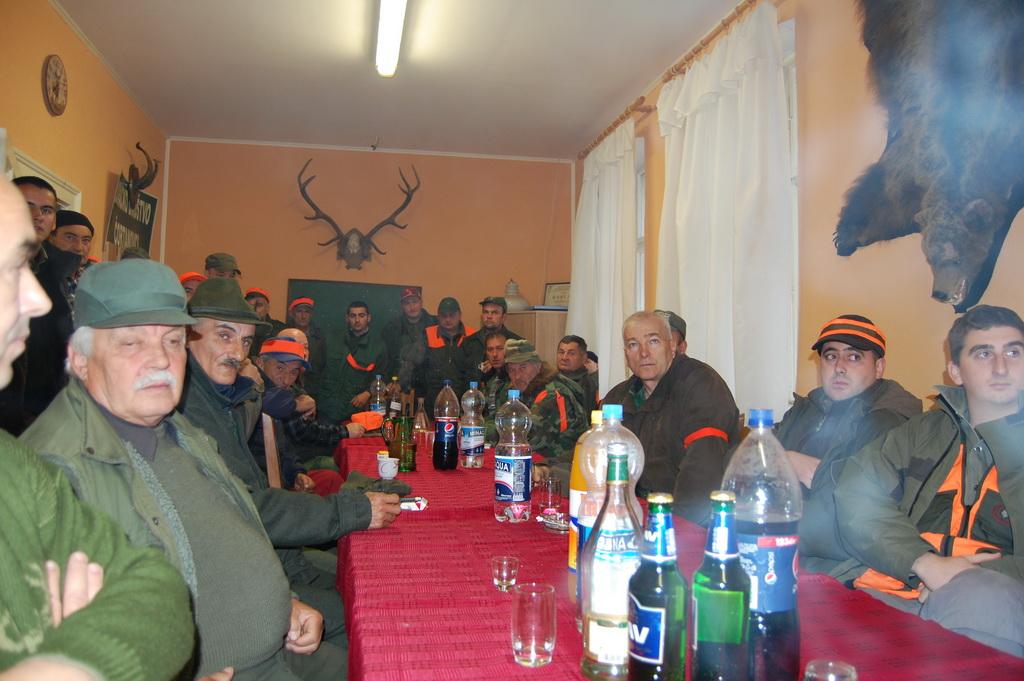Kod pobratima u Čortanovcima novembra 2013.godine