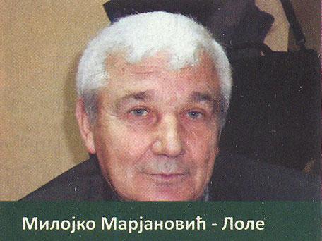 Milojko Marjanović - Lole