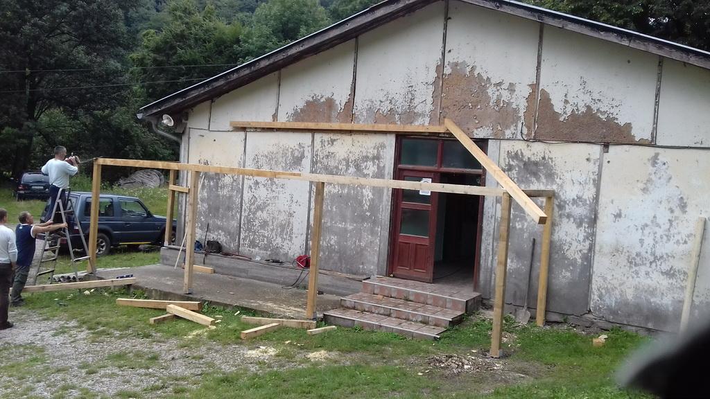 Sređivanje upravne zgrade - jesen 2018. godine